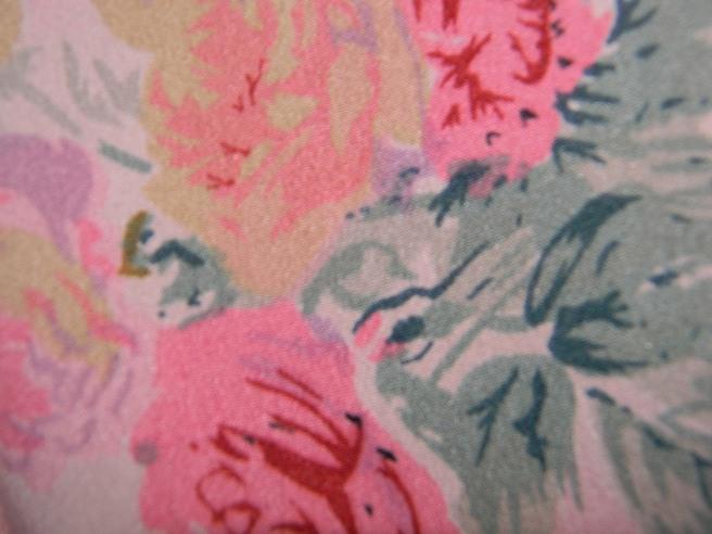 Topshop Vintage Spot Rose Dress £46.00